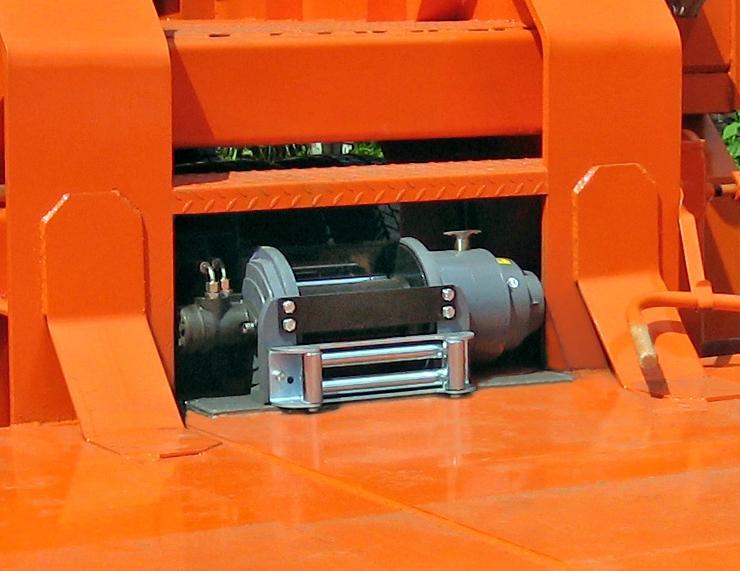 Дополнительное оборудование Лебедка гидравлическая